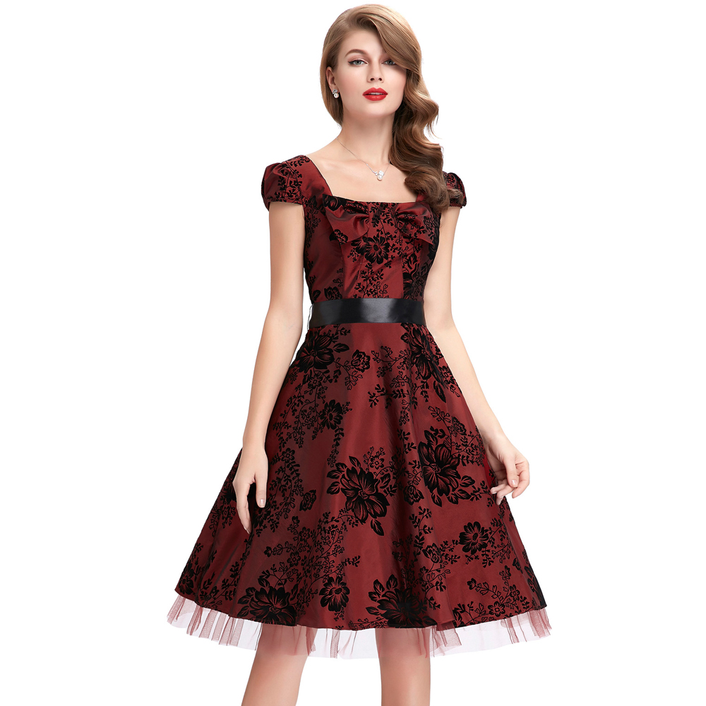 wedding party dresses for women dress vestidos pin up