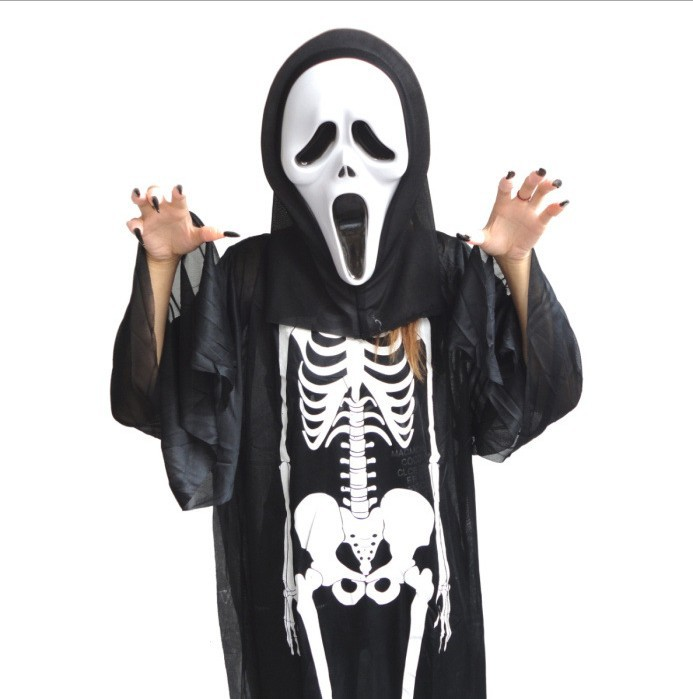 Promotion Halloween costume scream Mask nails Masquerade scary masks supplies - Golden Way International Co.,ltd store