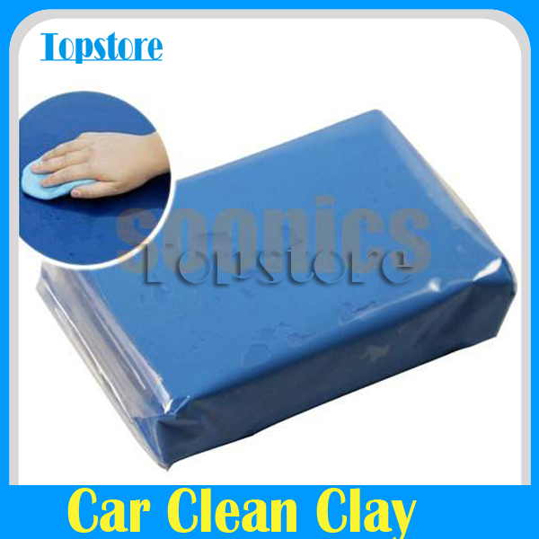 Mini Handheld Blue Practical Magic Car Surface Clean Clay Bar Auto Detailing Recycle Cleaner(China (Mainland))
