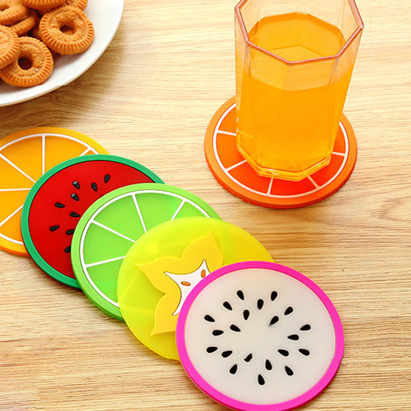 Online Buy Wholesale coaster set from China coaster set  : 6Pcs font b Set b font Fruit font b Coaster b font Colorful Silicone Tea Cup from www.aliexpress.com size 800 x 800 jpeg 537kB