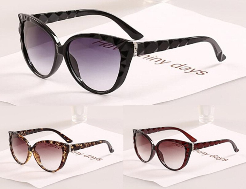 Buy cat eye women diamond leg super fashion sunglasses women 2015 new style What style glasses are in fashion 2015