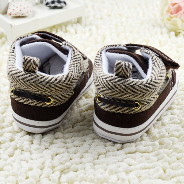 Newborn Baby Boys First Walkers Girls Soft Sole Cotton Crib Shoes Toddler Velcro Prewalker  For Freeshipping