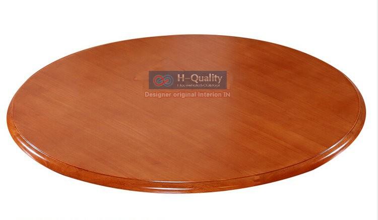 wood swivel plate