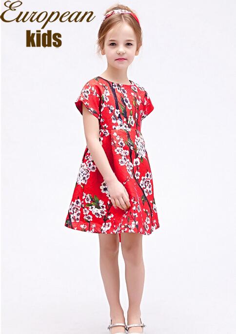 Buy 2015 Girls Winter Dress Children