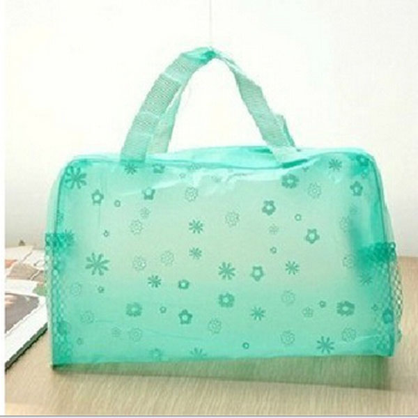 HotWaterproof Portable Women Cosmetic Makeup Bag Travel Wash Storage Bag Tote Laundry Shoe Pouch Shower Bags 2016(China (Mainland))