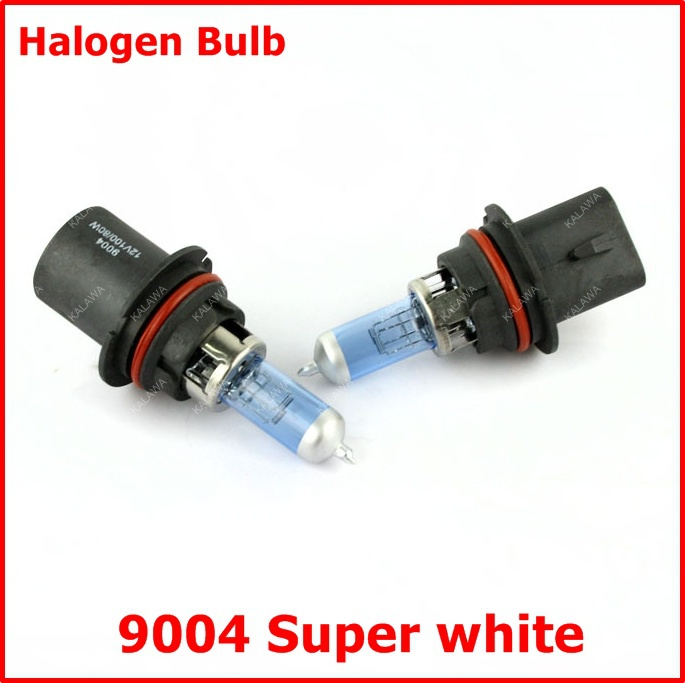 2 X 9004 type for Philips new super-white halogen car headlight bulbs halogen xenon bulb lamp kit 12V 65/45w freeshipping LLL(China (Mainland))