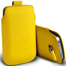 For Sony for Xperia XA Dual F3112 F3116 13 Color pu Leather Pouch cover Bag case phone cases Accessories with Pull Out Function