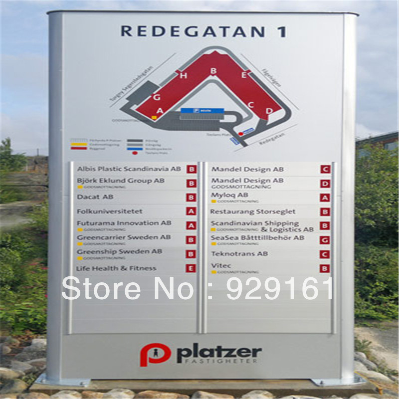 stainless steel indoor Directional Signs(China (Mainland))