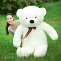 Free Shipping 160CM big giant teddy bear soft toy White animals plush stuffed toys life size