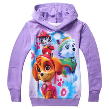 Dogs Hoodies Thin Sweatshirt Boys Girls Spring Autumn Coat Kids Long Sleeve Casual Outwear Baby
