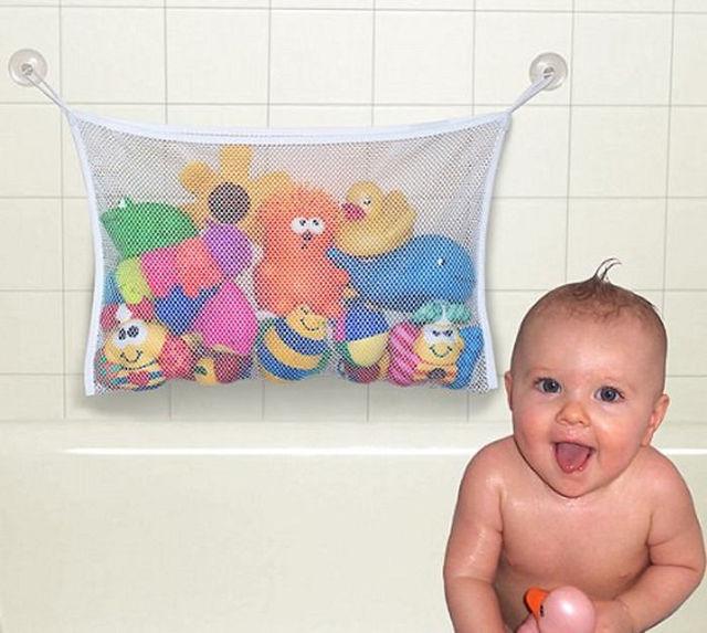 New Baby Дети Купание Весело Провести Время Ванна Игрушка Организатор Сумка Для Хранения