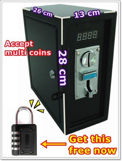 how to open washing machine coin box