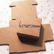 50pcs/lot New style Small Brown Kraft Paper Boxes Party Wedding Bomboniere Favor Gift Boxes DIY Gift 65*60*20mm(China (Mainland))
