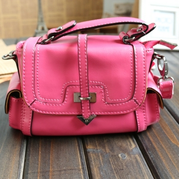 Fashion vintage bag portable one shoulder cross-body women's genuine leather handbag small bag arrow bag