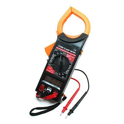 Volt Amplifier Ohm Meter Multimeter Digital Clamp Meter w 66cm Test Probe Leads(China (Mainland))