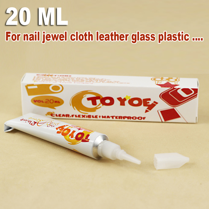 20ml Nail Glue Adhesive clear Gel multi-purpose for jewelry crystals rhinestones clothing glass DIY tools accessories parts
