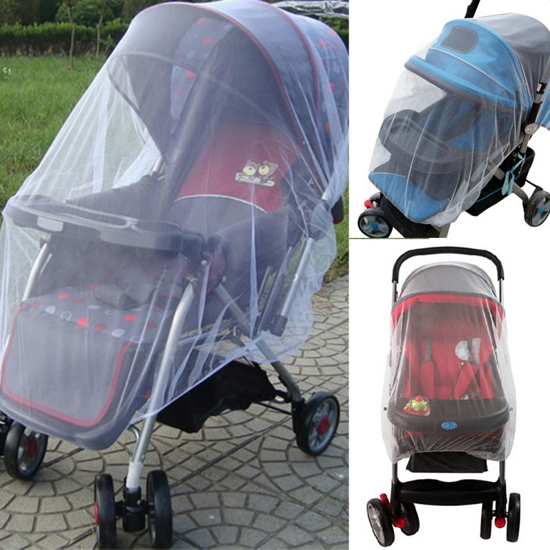 2015 New Arrival Outdoor Baby Infant Kids Stroller Pushchair Mosquito Insect Net Mesh Buggy Cover Wholesale