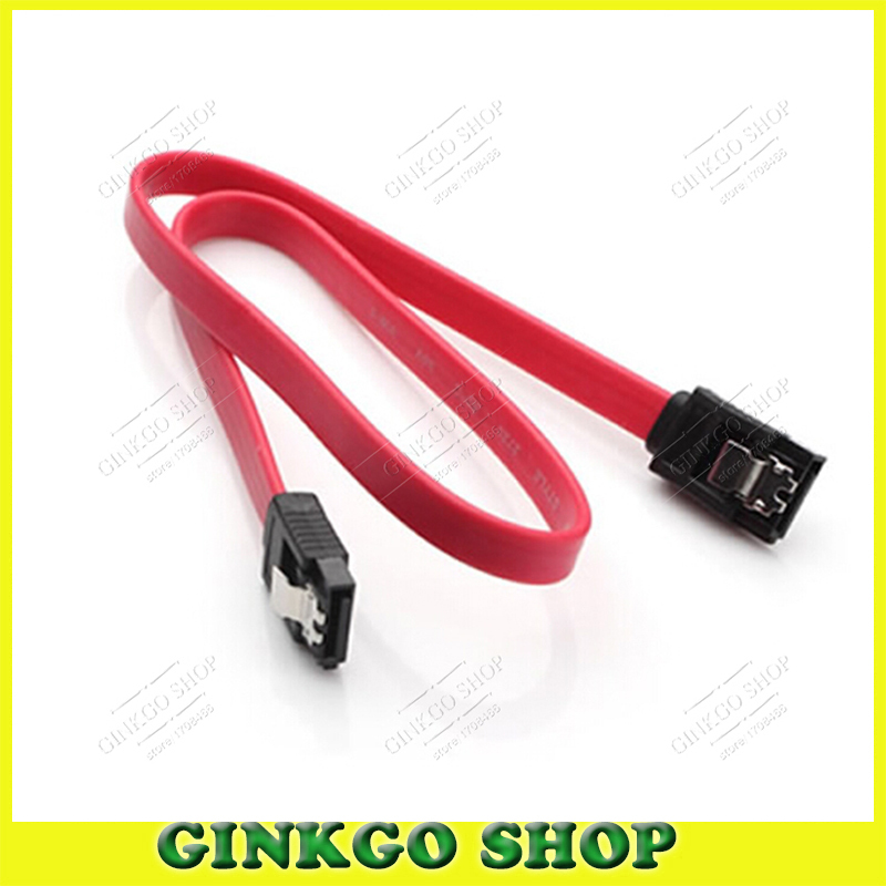 30pcs/lot SATA Data Serial Port Hard Disk Cable CD-ROM Serial data Connection Cable with Card Buckle Free Shipping(China (Mainland))