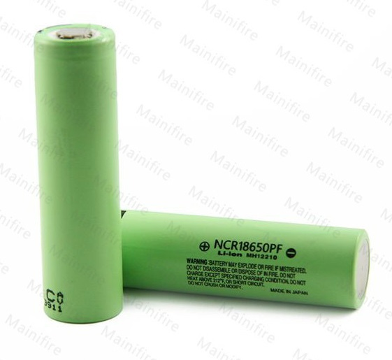 2 pcs/ Lot New Original NCR18650PF 2900 mAh 18650 Lithium Rechargeable battery 3.7v for Panasonic Free shipping(China (Mainland))