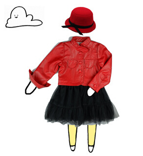 New 2015 spring autumn winter baby girls Children outerwear girls parkas PU leather thicken lace coats jackets for 3-6 ages<br><br>Aliexpress