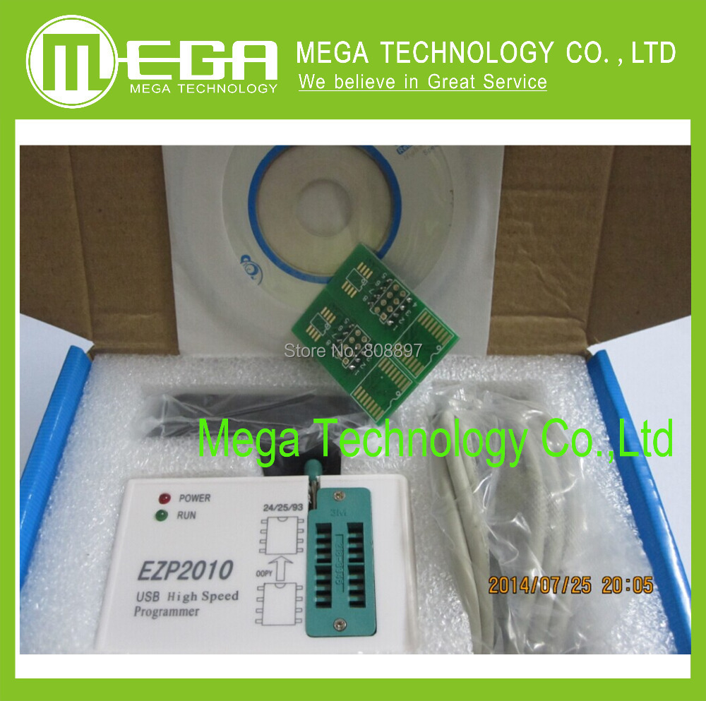 product 1pcsfree shipping EZP2010 high-speed USB SPI Programmer support24 25 93 EEPROM 25 flash bios chip