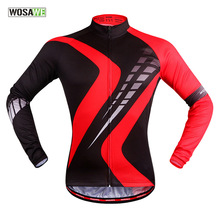 2016 new autumn cycling font b clothing b font outdoor riding breathable perspiration red long sleeved