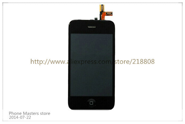 LCD Screen for iPhone 3GS Display with Digitizer full set(China (Mainland))