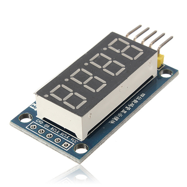 Hot Sale High Quality DIY LED Display Module 4 Bits Digital Tube Circuit Board With Clock For Arduino New Arrival(China (Mainland))