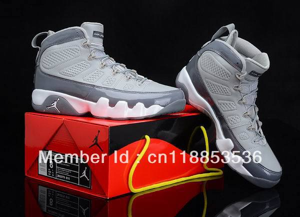 Fashion New Arrival Basketball Shoes Cool Grey  9S For Sale
