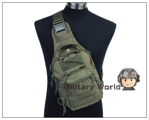 Outdoor Sports 1000D Nylon Molle Tactical Hiking Camping Utility 3 Ways Shoulder Sling Backpack Mens Bicycle Chest Pouch Bag^<br><br>Aliexpress