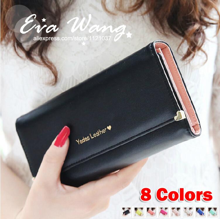 New arrival Loving heart Rivet Women Wallets, Clutchs, messenger bags, Purse, Handbag - Free Shipping - A074(China (Mainland))