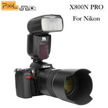 Buy Pixel X800N PRO Flash Speedlite 1/8000s ITTL HSS wireless GN60 Nikon d5300 d7100 d3100 d90 d7200 d5200 d3200 d3300 d3000 for $128.05 in AliExpress store