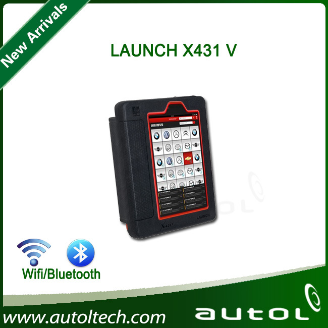 Newest Launch X431 V Super Auto Diagnostic tool X-431 V Multi-language Wireless WIFI/Bluetooth Communication one Years Warranty(China (Mainland))