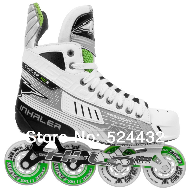 Mission ac2 sr inline patins de hockey adulte land hockey chaussures chaussures roulettes - Patin antiderapant chaussure ...