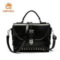 Loshaka Women Dual Use Crossbody Handbags Vintage Rivet Satchels bag Retro rock Casual Fashion 2017 New