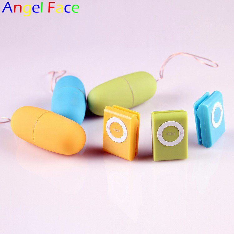 Female Wireless AV Vibrator Egg Sex Toys MP3 Remote Control Vibrators For Women Jump Egg 20 Speeds Bullet Sex Adult Products(China (Mainland))