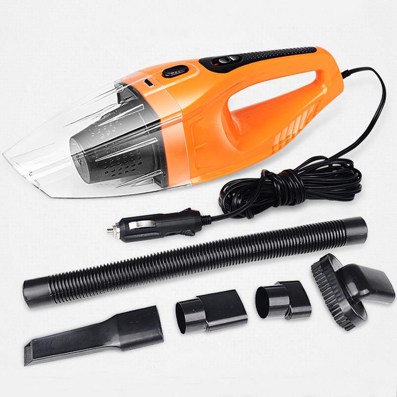 Hot New Orange 12V 100W Mini Portable Car Vehicle Car Handheld Vacuum Cleaner Wet & Dry(China (Mainland))