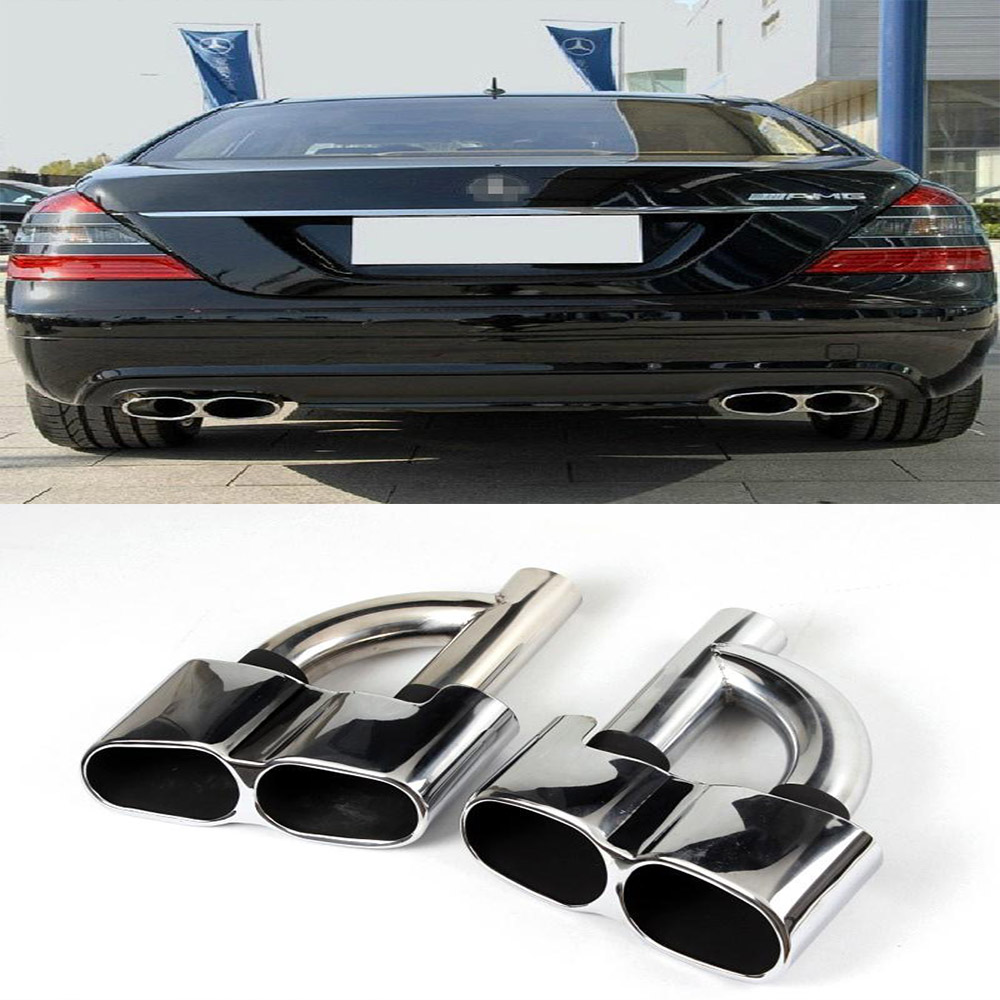 Popular mercedes s550 buy cheap mercedes s550 lots from for Mercedes benz exhaust
