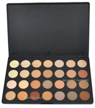 Beauties Factory 28 Colors Eyeshadow Palette Natural Nude