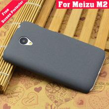 Meizu M2 Mini Case Plastic Frosted Ultra Thin High Quicksand Scrub Cover Case For Meizu M2 Mini 5.0 inch
