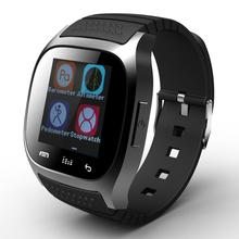 Bluetooth-смарт часы M26S Smartwatch Reloj Inteligente RWatch шагомер тревожное сообщение синхронизации росту как для Android и IOS App