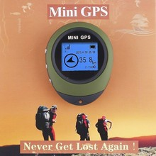 Mini Handheld GPS Navigation For Outdoor Sports Camping Hiking Travelling Hot(China (Mainland))