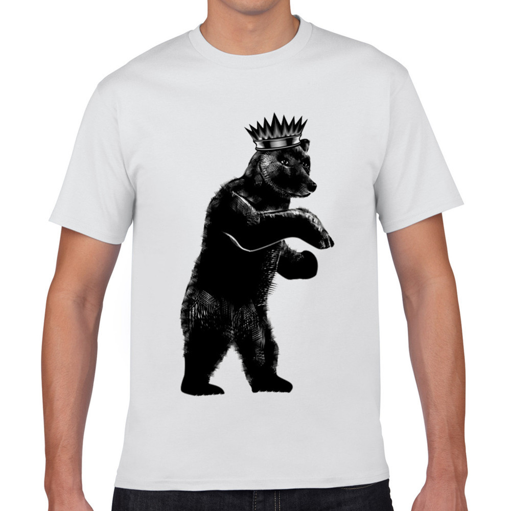 2016 Summer hot sale cool bear 3D T shirt New Fashion animal creative T Shirt Novelty Design tshirts big promotions XQ331(China (Mainland))