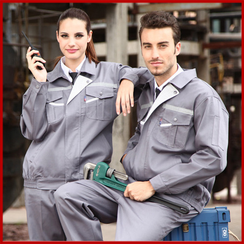 New Arrival Winter Suit Engineering Long Sleeved Clothing Factory Labor Service Repair Shop suit And Auto Shop Uniform Sets V113(China (Mainland))