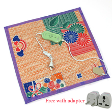Pet Electric Blanket Heated Seats Animals Bed Heater Mat Heating Pad Goods for Cat Dog Bed Body Winter Warmer Carpet(China (Mainland))