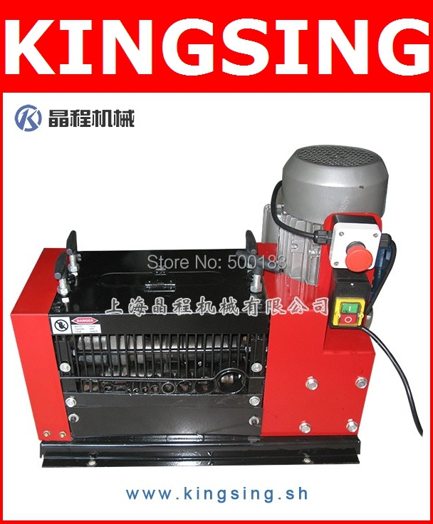 Wholesale Scrap Cable Stripping Machine , Wire Stripping Machine KS-12E+ Free Shipping by DHL/FedEx air express(China (Mainland))