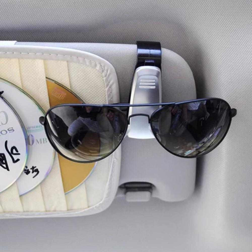High Quality Smart Car Vehicle Sunglasses Visor clip Eyeglasses Holder Sunglass case Sunglasses Clip Fastener Wholesale(China (Mainland))