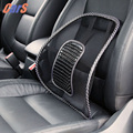 37 42cm Cool Car Seat Cushion BUH9 Mesh Cloth Car Seat Support Cushion Lumbar Waist Back