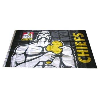 Wholesale 10pcs Rebel Sport Super Chiefs black Rugby Flag 3x5 Feet