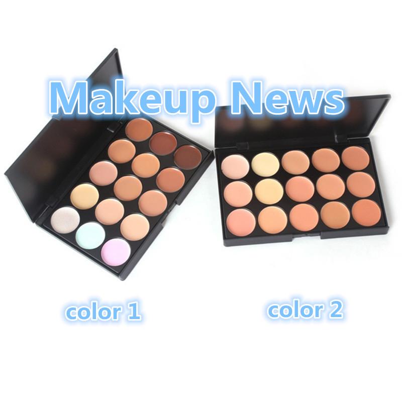 1pcs Colors Professional Concealer Neutral Palette 15 Color Makeup Tools Scar Cream Face